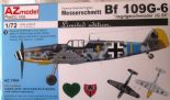 AZM74054 1/72 Messerschmitt Bf 109G-6 JG 54 (Limited Edition)